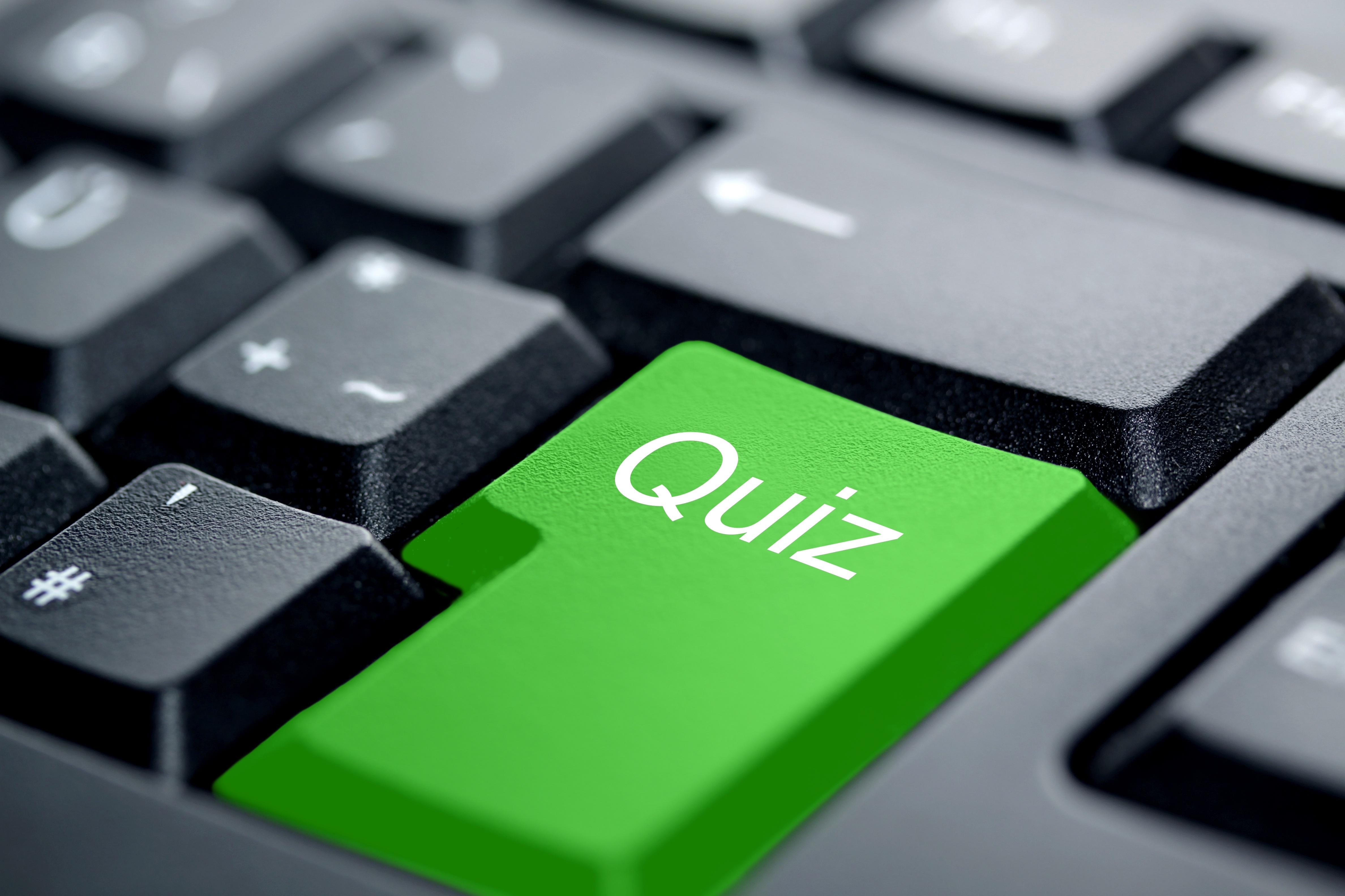 """""""Start Quiz"""" Button"""