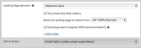 welcome gate wordpress plugin